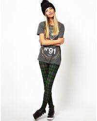 Lulu & Co | Asos Leggings in Plaid | Lyst
