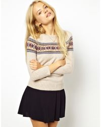 Jack Wills - Fairisle Sweater - Lyst