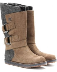 Sorel Chipahko Felt Waterproof Boots - Lyst
