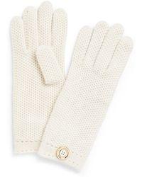 Tory Burch - Moss Cashmere Stitch Glove - Lyst