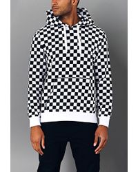 Forever 21 - Bold Checkered Hoodie - Lyst