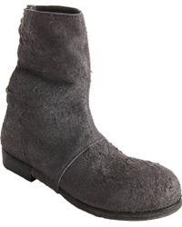 Alexandre Plokhov - Split Suede Back Lace Boots - Lyst
