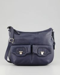 Cole Haan Vintage Valise Leather Crossbody Bag Pacific - Lyst