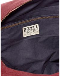 Jack Wills - Enbrook Barrel Bag - Lyst