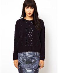 Needle & Thread Lancet Sweater