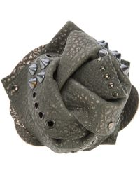 Brunello Cucinelli - Studded Floral Brooch - Lyst