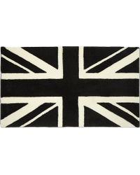 Chocoolate - It Union Jack Rug - Lyst
