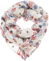 Erfurt - Embroidered Square Scarf - Lyst