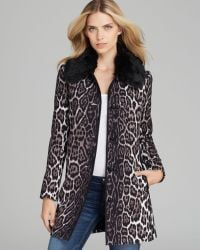 Juicy Couture - Coat Flowing Leopard - Lyst