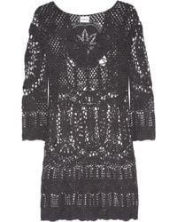 Lisa Maree - Intertwined Lives Crocheted Cotton Coverup - Lyst