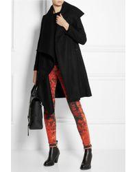 OAK - Draped Wool Coat - Lyst