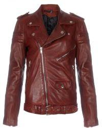 BLK DNM Crimson Leather Motorcycle Jacket 8 - Lyst