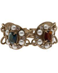 Gerard Yosca - Jeweled Pendant Bracelet - Lyst