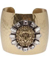 Gerard Yosca - Lion Medallion Bracelet - Lyst