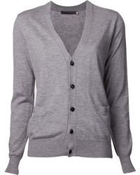 Harvey Faircloth - Cashmere Side Zip Cardigan - Lyst