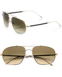Mosley Tribes Mcavoy Aviator Sunglasses
