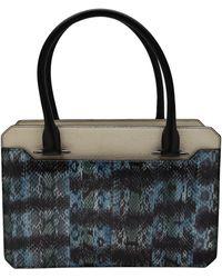 Mugler - Python Shoulder Bag - Lyst