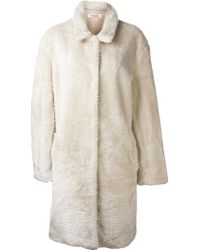 Organic By John Patrick - Pointed Collar Trench Coat - Lyst