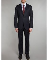 Hugo Boss The James Sharp Mini Pindot Regular Fit Suit - Lyst