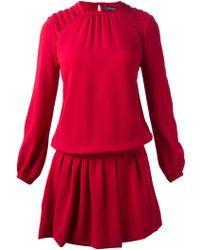 Isabel Marant Drop Waist Dress - Lyst