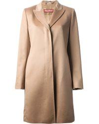 Max Mara Classic Overcoat - Lyst