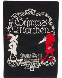 Olympia Le-Tan Grimms Marchen Book Clutch - Lyst