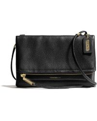 Coach The Urbane Crossbody Bag in Pebbled Leather - Lyst