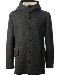 Fred Perry - Single Breasted Coat - Lyst