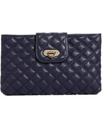 French Connection Oxford Quilted Clutch - Lyst