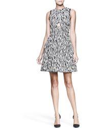 Proenza Schouler Full Zigzag Cutout Dress - Lyst