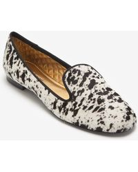 Avec Moderation Printed Haircalf Smoking Slipper - Lyst