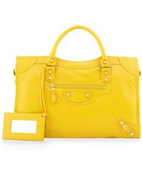 Balenciaga Giant 12 Golden City Bag Tournesol - Lyst