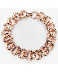 Giles & Brother - Encrusted Cortina Chain Necklace - Lyst