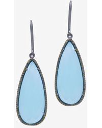 Susan Hanover - Faceted Stone Hook Earrings - Lyst