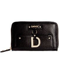 DKNY Active - Charm Medium Zip Around Purse - Lyst