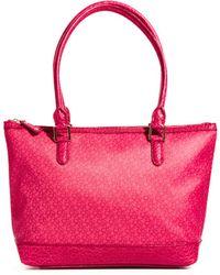 DKNY Active - Coated Logo Zip Top Shopper Bag - Lyst