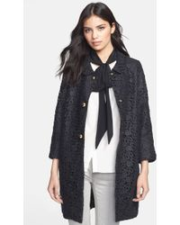 Kate Spade Franny Lace Coat - Lyst