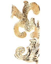 Emilio Pucci Goldplated Cuff - Lyst