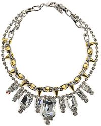 Joomi Lim - Baroque Crystal and Spike Necklace - Lyst