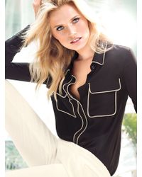 Victoria's Secret The Silk Shirt - Lyst
