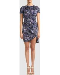 Aminaka Wilmont Short Dress - Lyst