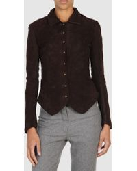 Christian Peau Leather Outerwear - Lyst