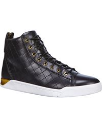 Diesel Trainer Tempus Diamond Sneaker Mid - Lyst