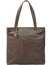 Giorgio Fedon 1919 Large Leather Bag - Lyst