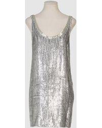 Isaac Mizrahi Short Dress - Lyst