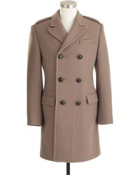 J.Crew - Ludlow Double breasted Topcoat in English Wool - Lyst