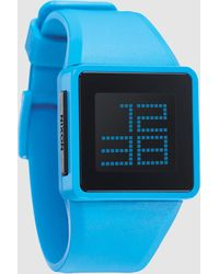 Nixon Blue Wrist Watch - Lyst