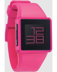 Nixon Pink Wrist Watch - Lyst