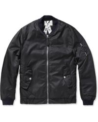 Our Legacy Padded Bomber Jacket - Lyst