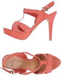 Schutz Platform Sandals - Lyst
